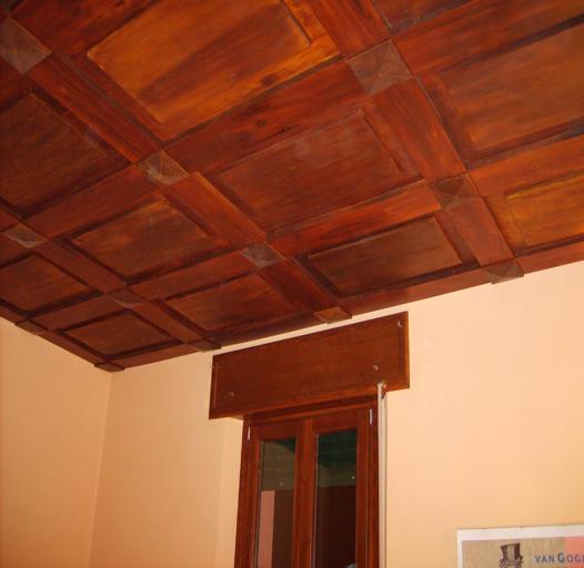 Controsoffitto in eps legno