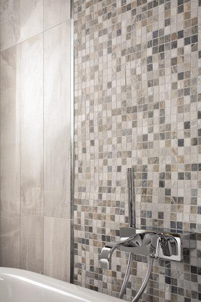 Light Grey Deluxe 20x80+Mosaico_particolare