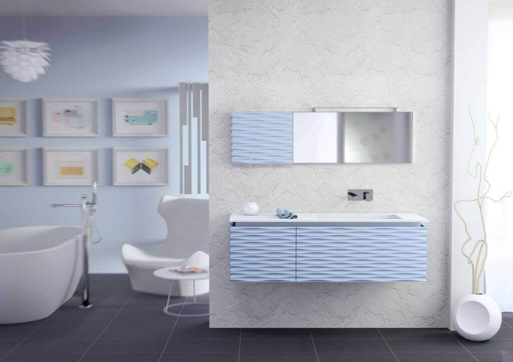 Mobile bagno -3D-Quaderno