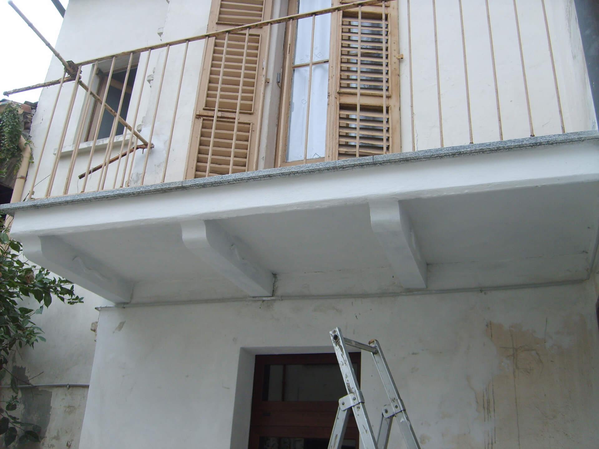 Balcone dopo di intervento ripristino (2)