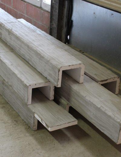 Travi effetto legno eps rasate
