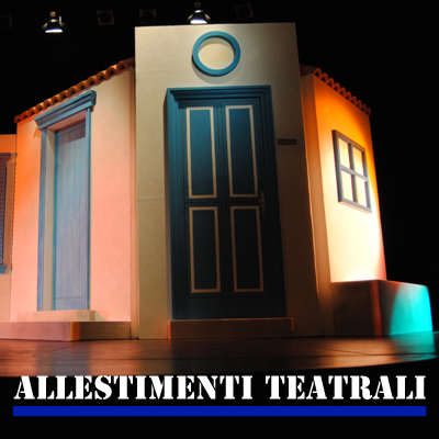 Allestimenti teatrali e fieristici