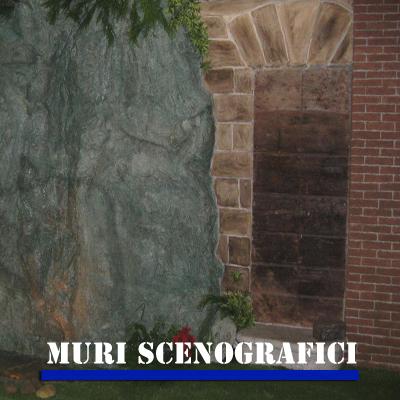 Muri scenografici in polistirolo